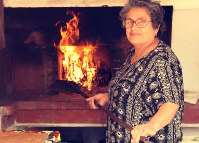 Making Sicilian bread with Nonna Nina