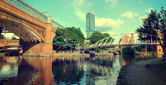 Manchester Above and Below: a City of Contrasts