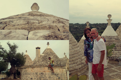 Iconic trulli homes in Puglia in Southern Italy