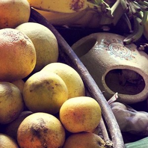 Collection of amazing Caribbean fruits and vegetables