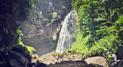 Experiential travel while hiking to Victoria Waterfalls in Dominica