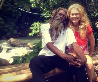 Travel with Locals, meeting Moses and his wife in the Caribbean rain forest of Dominica