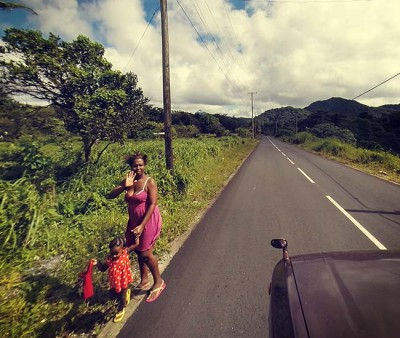 Experiential travel, learning the cultural values of hitchhiking in Dominica