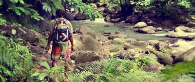 Travel with Locals, Moses takes us Hiking along the White river in Dominica